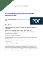 Macroeconomics 9th Edition Abel Test Bank