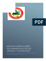 Mallas Integradas Secundaria