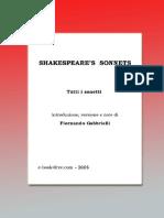 Shakespeares Sonnets 1