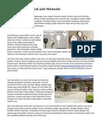 Cara Merubah Rumah Jadi Minimalis