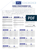 Photoshop Cheat Sheet Print Friendly 2018