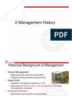 2 Management History