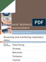 Basic Respiratory Management
