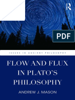 FLOW AND FLUX IN PLATO'S PHILOSOPHY preview