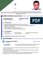 Resume Jinu Devaraj
