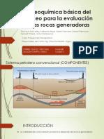 La Geoquímica Básica Del Petróleo Para La Evaluación