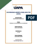 Unidad I - Orientación Universitaria