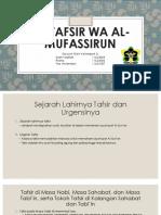 AL-TAFSIR WA AL-MUFASSIRUN.pptx