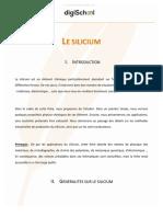 Ingé - Le Silicium Chimie - BLANQUIER