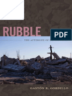 Rubble by Gaston Gordillo Introduction Libre