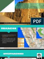 Arquitectura Peruana I- Sechin