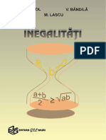 Inegalitati - Panaitopol