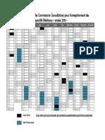 Calendrier Des Commissions DM 2015