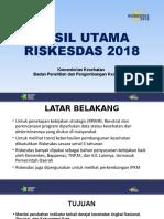 Riskesdas Launching 301018 Edit271018 Nowo Edit Kaban 01
