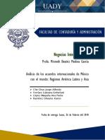 Acuerdos Internacionales de México - Equipo 5