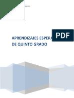 APRENDIZAJES ESPERADOS 5° GRADO.docx