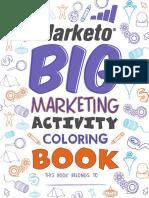 Marketo Big Marketing Activity Coloring Book