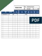 Formato de Programa de Compras Proyecto