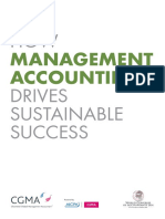 How Management Accounting Drives Sustainable Success
