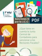 Ponencia - Sanciones Impuestas Por La J.C.C v1