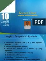 Kuliah10-OL-Konsep Dasar Pengujian Hipotesis (lanjutan).ppt