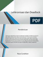 Sinkronisasi Dan Deadlock