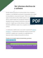 Cómo Escribir Informes Efectivos de Defectos de Software