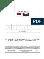 Reglamento de SSMA Empresas Subcontratistas Ver 00 (2)