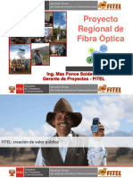 Proyecto Regional de Banda Ancha UP 2016