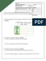 Examen BG 1º ESO Tema 1.2
