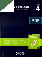 U1 - La Tectónica de Placas - BG 4ºESO Ed. Oxford