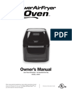 PowerAirFryer Manual