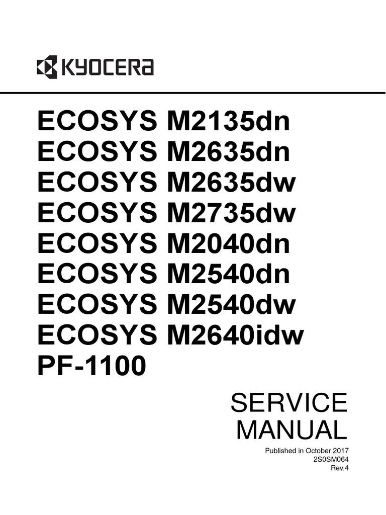 SERVICE M2135dn-M2635dw-M2040dn-M2540dw-M2640idw-PF