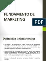 Fundamento de Mercadotecnia Diapositiva