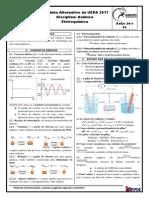 Química 20 e 21 - Eletroquímica