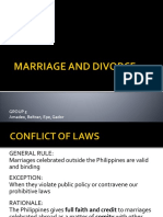 Marriage and Divorce (1)