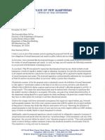 NH Governor Chris Sununu Letter To Betsy DeVos