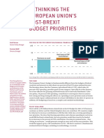 Rethinking the European Union's Post-brexit Budget Priorities