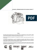 Manual de Funcionamiento y Mantenimiento de Motores Serie c