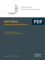 SAP OData Connecting From IBM Cloud