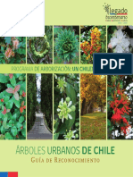 Arboles urbanos Chile