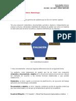 10.- El Proceso de Auditoría, Metodologia