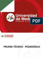 3_Prueba Técnico - Pedagógica