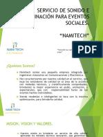 SERVICIO DE SONIDO E ILUMINACIÓN PARA EVENTOS SOCIALES.pptx