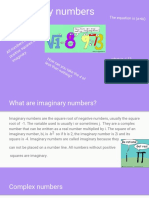 imaginary numbers by noodles