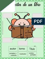 Las Partes Del Libro Para Niños