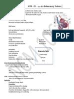 Acute Pulmonary Failure Handout