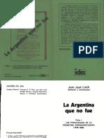 La Argentina Que No Fue _Llach