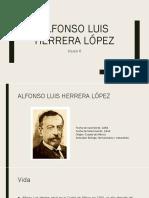 Alfonso Luis Herrera López