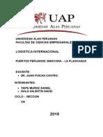 Puertos Logistica